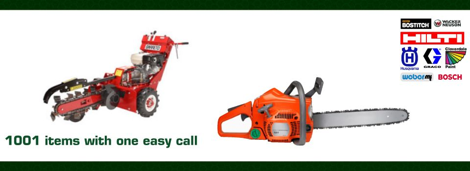 lawn supplies - Equipment Rental Kamloops